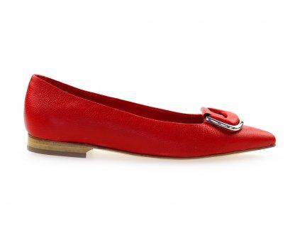 červené italské baleríny