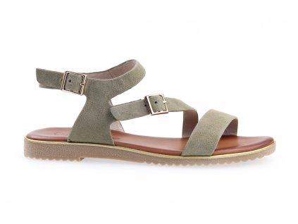 dámské zelené sandály