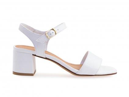 bílé lodičky pro nevěstu