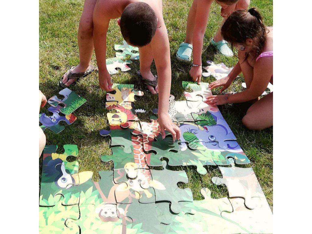 megapuzzle džungľa prenájom
