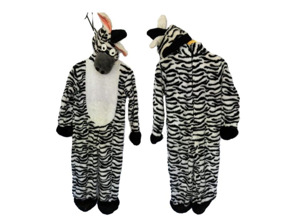 Zebra detský kostým prenájom