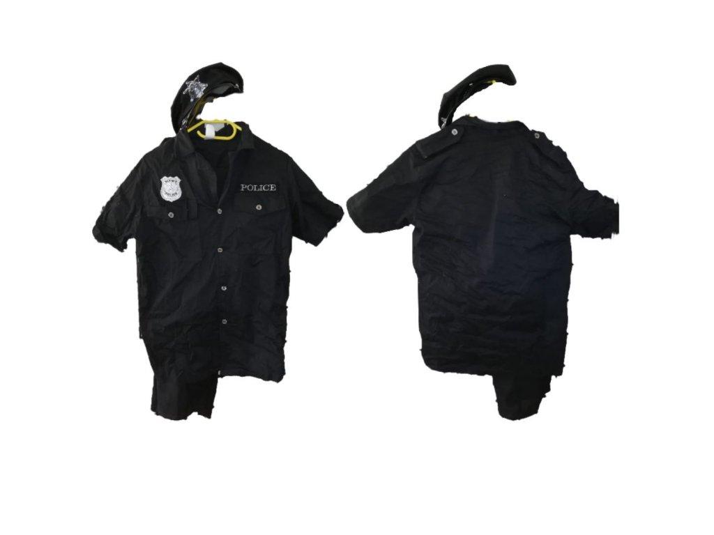 Policajt kostým prenájom