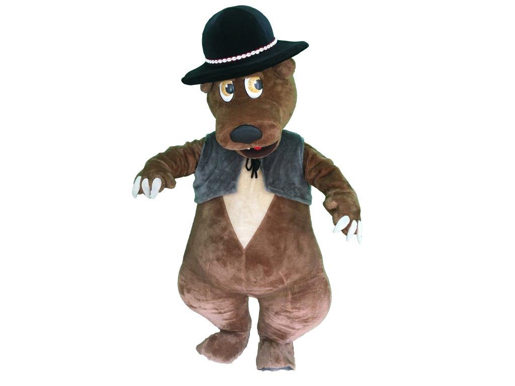 Medveď tatranský - maskot prenájom