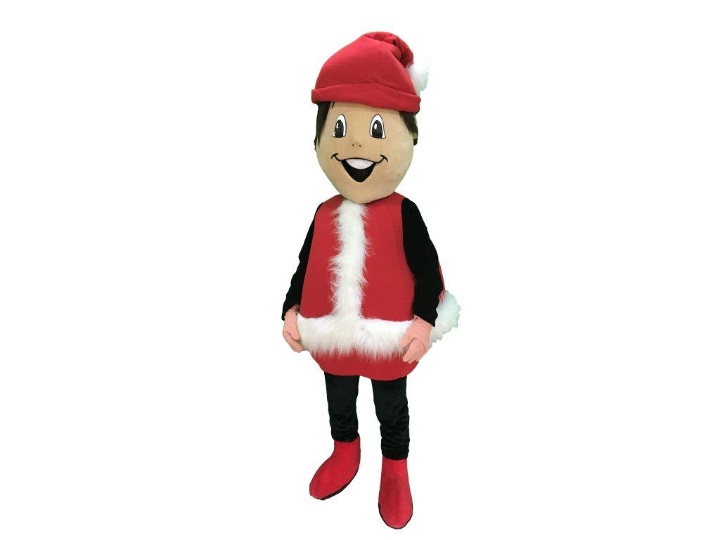 Vianočný chlapec - Mikuláš - maskot prenájom