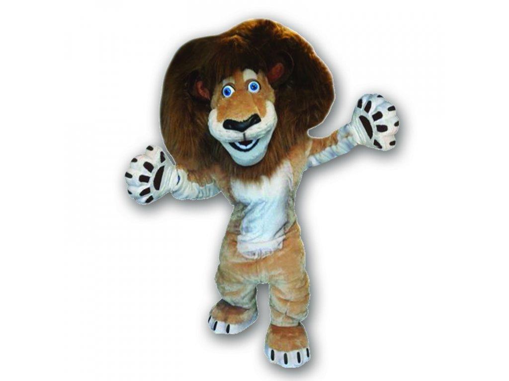 Lev Alex - maskot prenájom