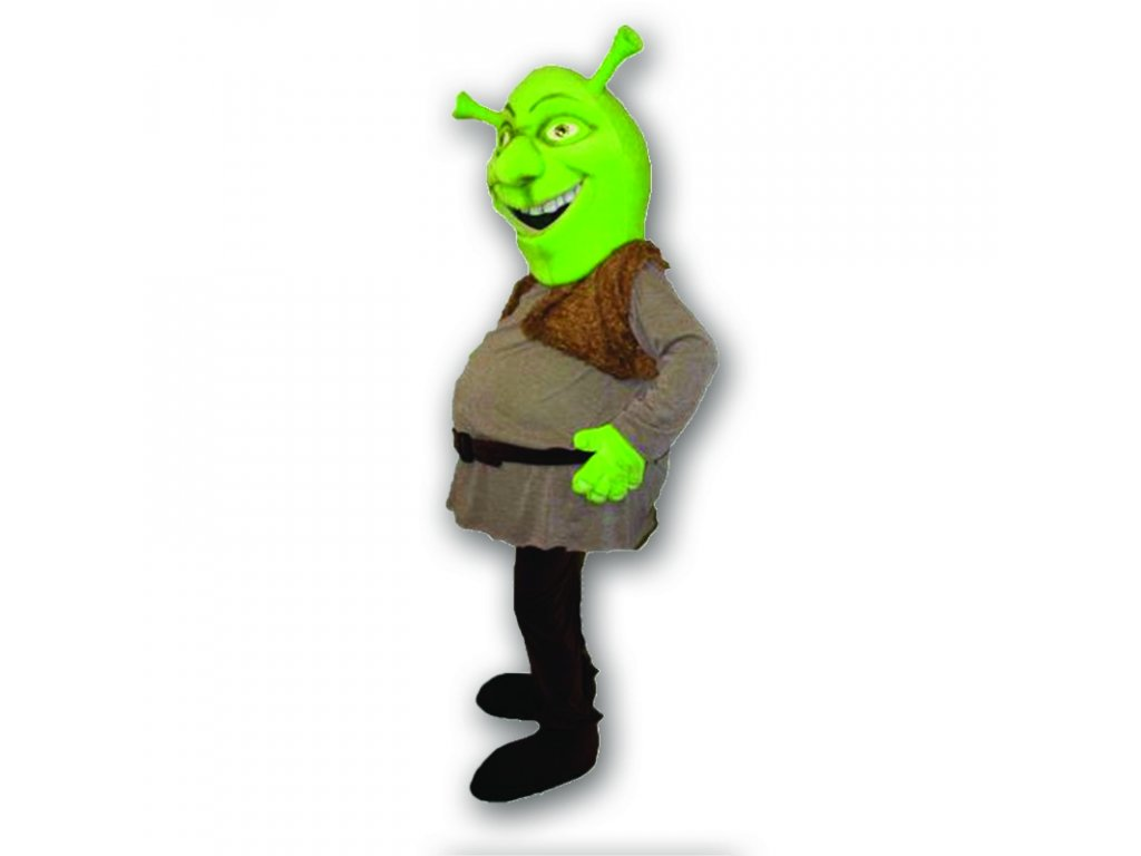 Shrek - maskot prenájom