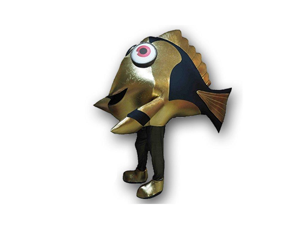Zlatá rybka - maskot prenájom