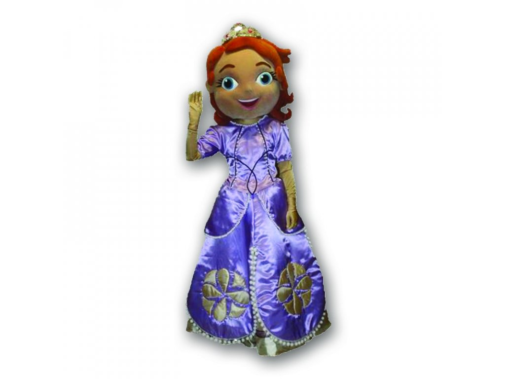 Princezná Sofia - maskot prenájom