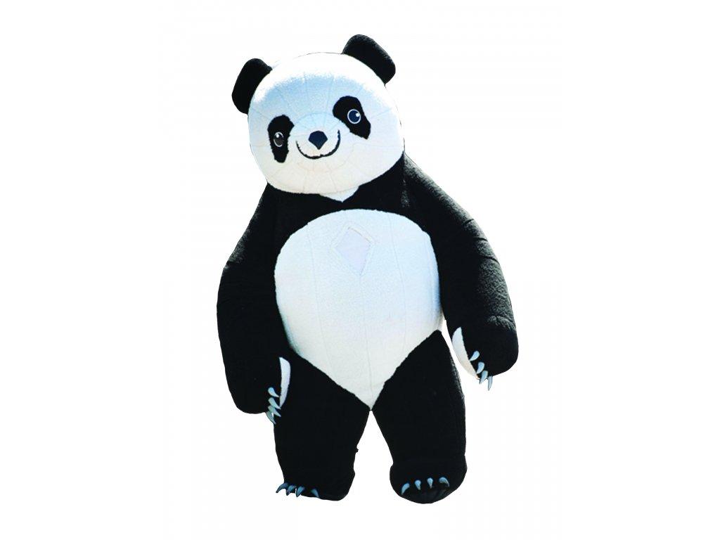 Mega Panda - nafukovaci maskot prenájom