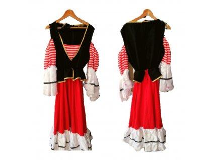 Pirát dámsky kostým prenájom