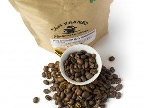 certve prazena káva z Kostariky z rodinne prazirny Don Franko