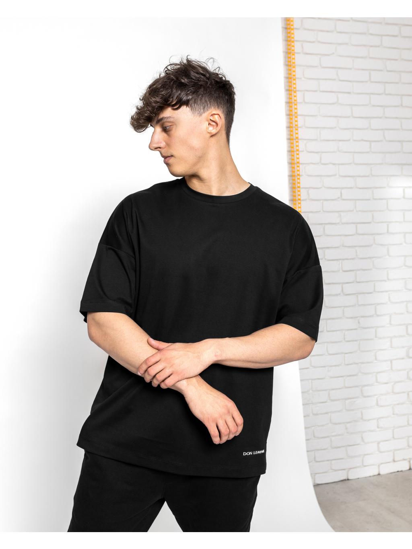 Oversized Triko Tenet - černé