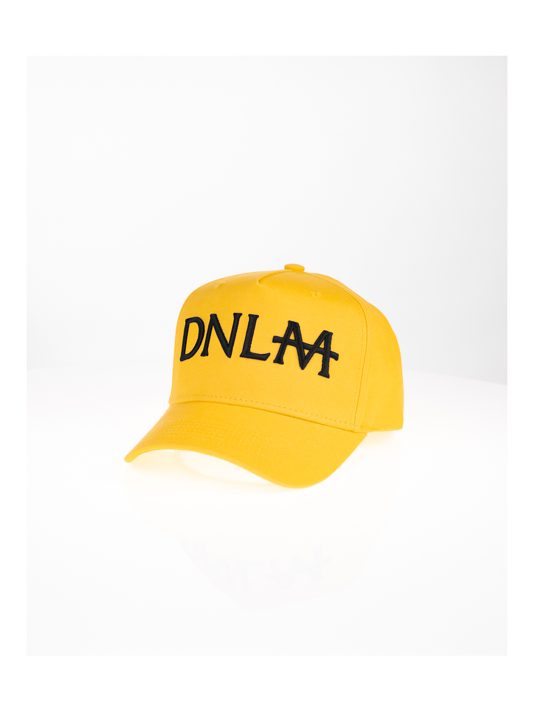 Kšiltovka DNLM 3D - žlutá