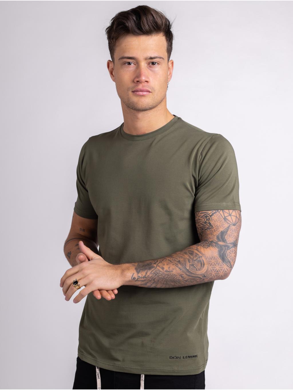 Tričko Core - khaki