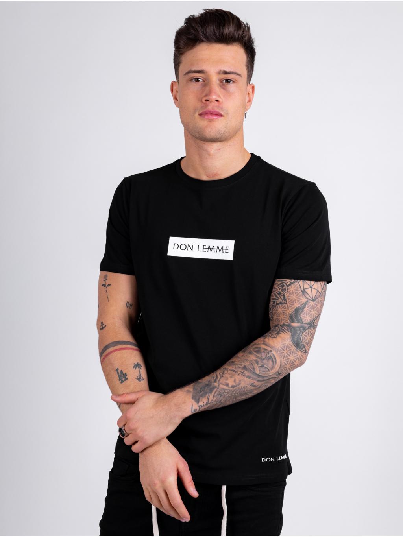 Tričko Content - černé