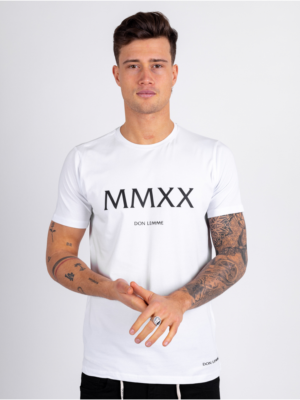 Tričko MMXX - bílé