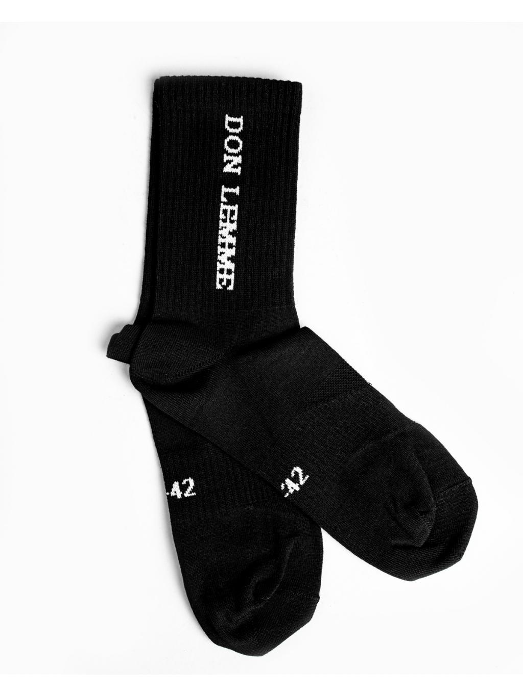 Ponožky Vertical - černé