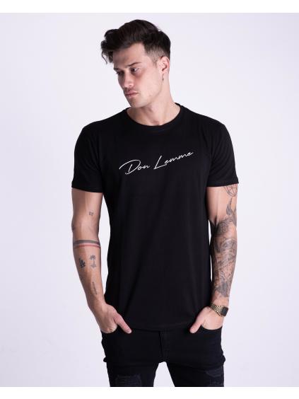 Tričko Signature - černé