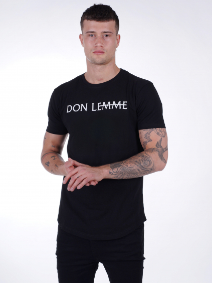 Tričko Brand - černé