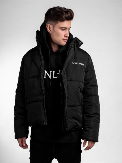 Zimní bunda Panel - černá