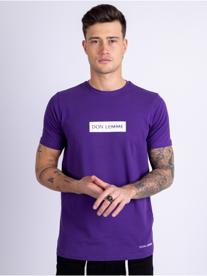 Tričko Content - fialové