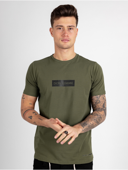 Tričko Content - khaki