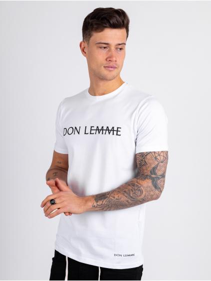 Tričko Label - bílé