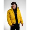 Zimní bunda Panel - žlutá