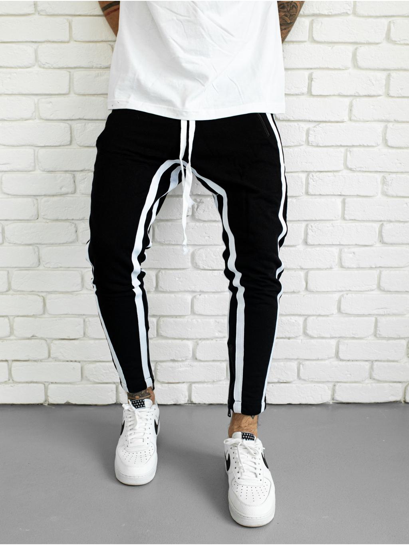 Melegítő nadrág Mamba - fekete