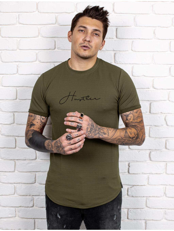 Póló Hustler - khaki