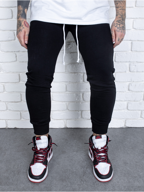 Melegítő nadrág Born - fekete