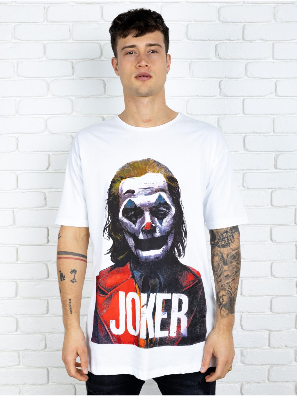 Póló Joker - fehér