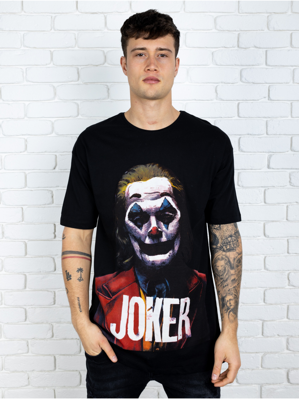 Póló Joker - fekete