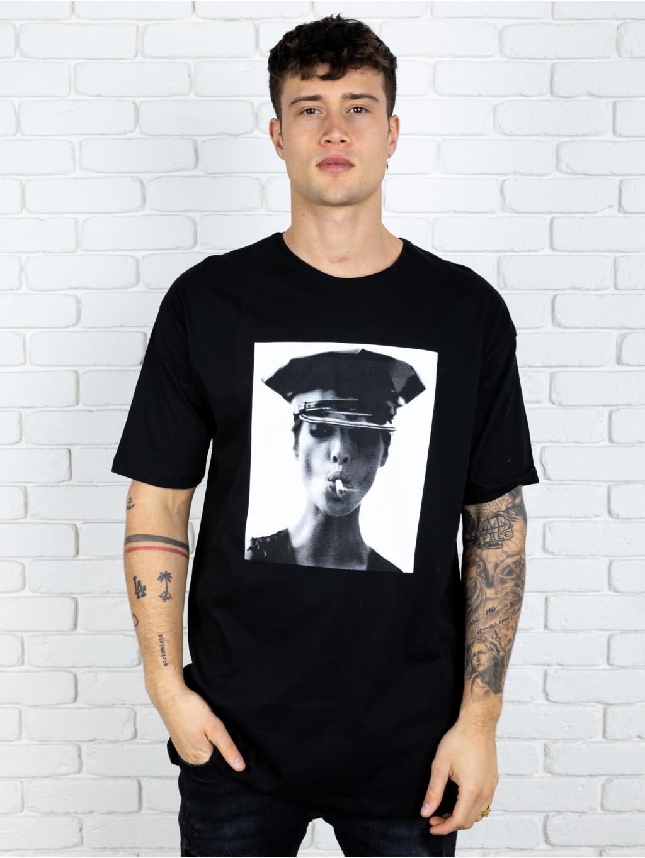 Póló Police - fekete