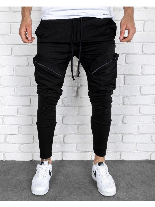 Melegítő nadrág Voice - fekete