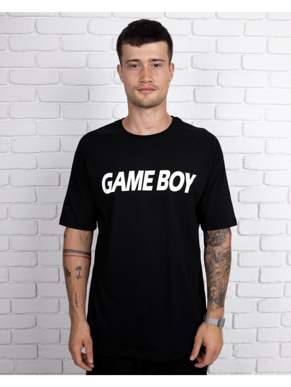 Póló Gameboy - fekete