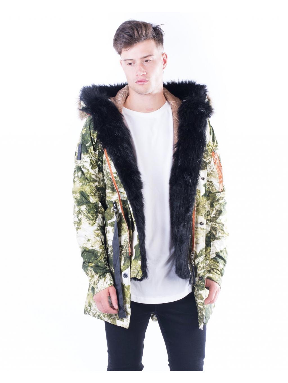 Kabát Mountain - zöld