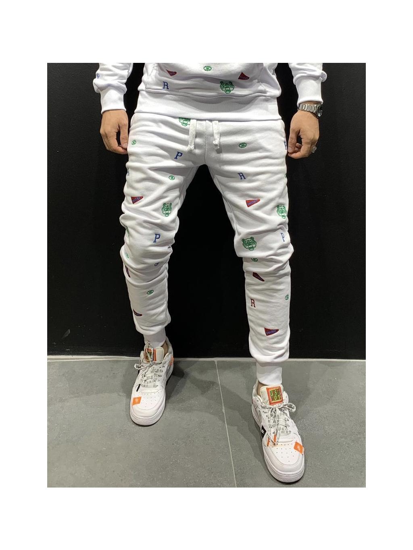 Melegítő nadrág Center - fehér