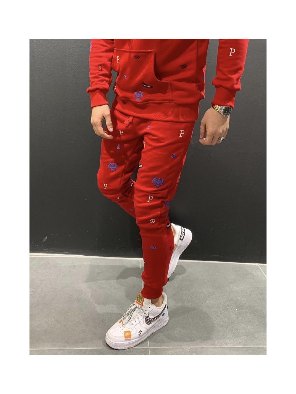 Melegítő nadrág Center - piros