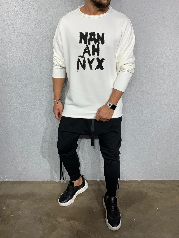 Melegítő felső NYX - Fehér