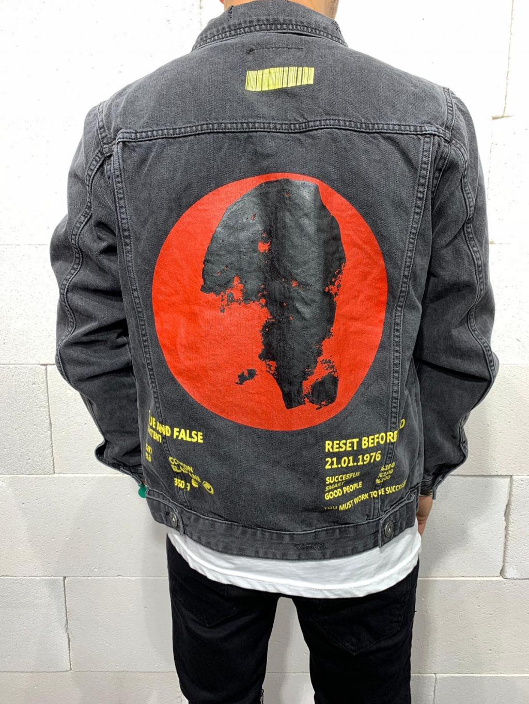 Farmer kabát Before - Fekete