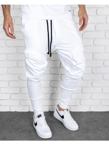 Melegítő nadrág Voice - fehér