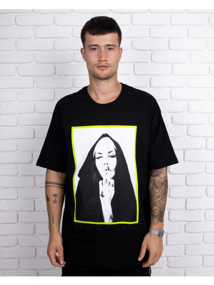 Póló Nun - fekete