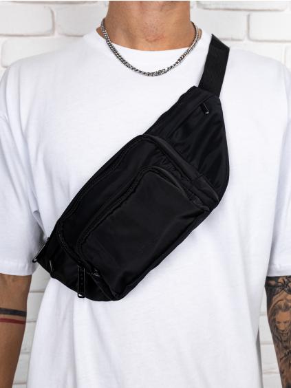 Oldaltáska Black Pocket
