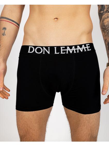 Duopack  Boxeralsók - fekete