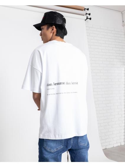 Unisex Póló Name - fehér