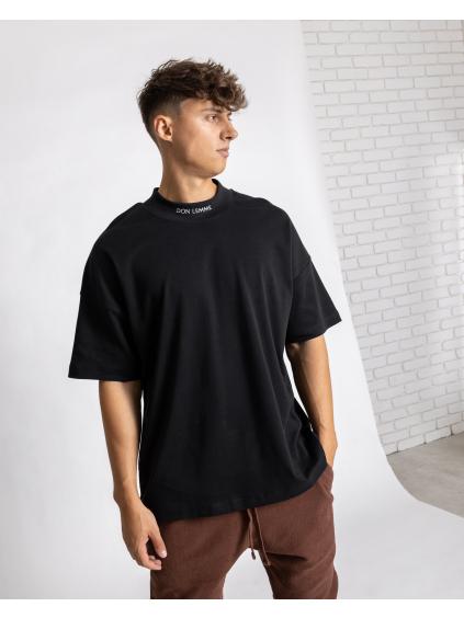 Oversized Póló Collar - fekete