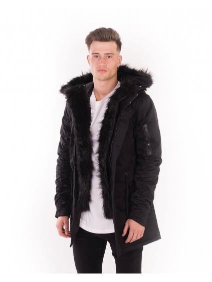 Kabát Jet Black