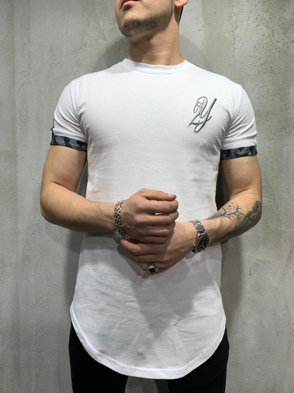 Póló Public - fehér