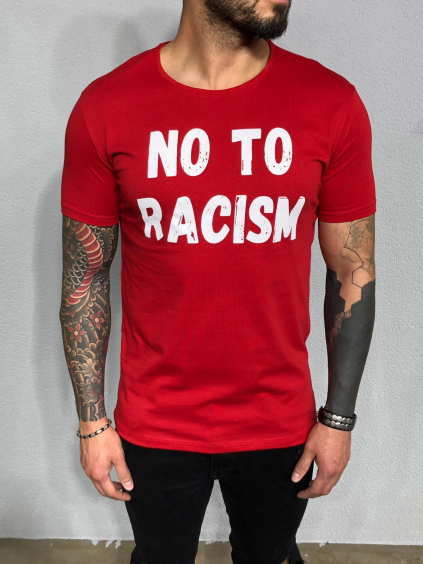 Póló Racism - piros